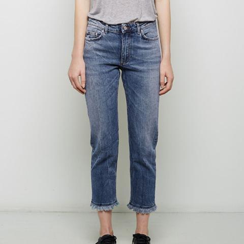 Row Fringe Jeans