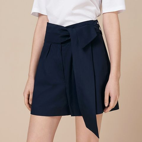 Oakden Tailored Tie Shorts
