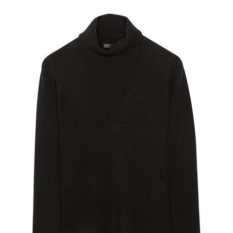 Keola Ribbed Cashmere Turtleneck Sweater