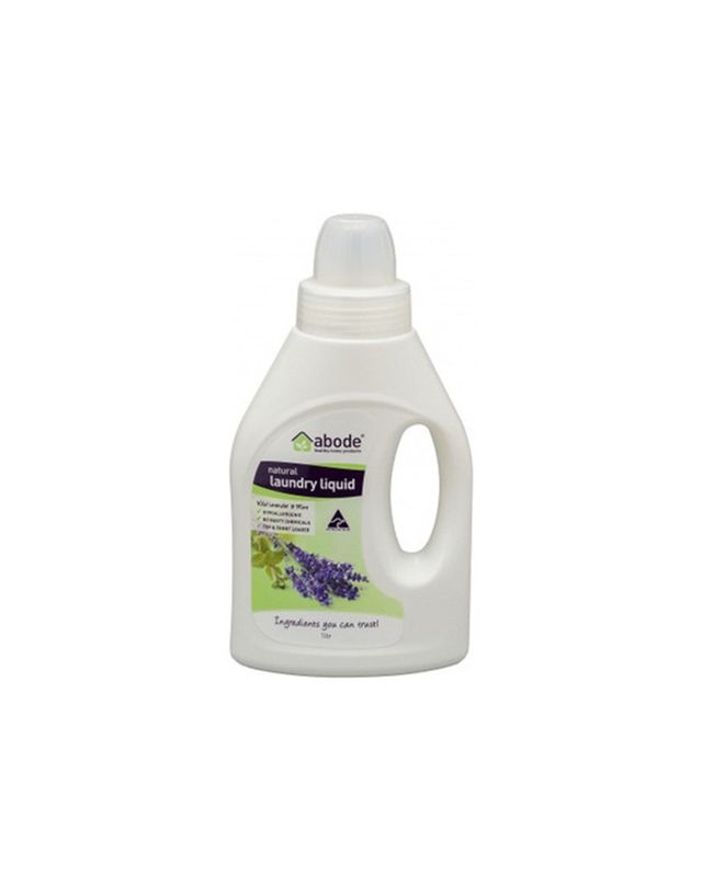 Abode Natural Laundry Liquid in Lavender & Mint