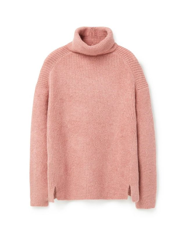 Mango Stand-Collar Sweater