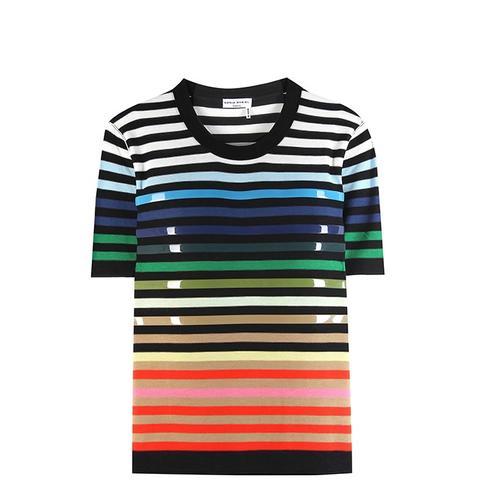 Embellished Striped T-Shirt