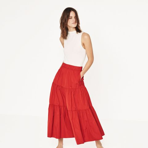 Studio Skirt With Frill