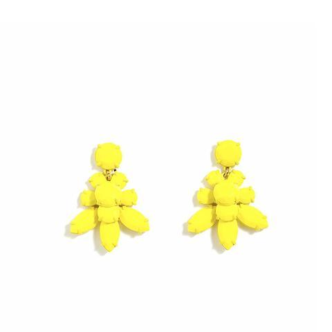 Lemon Crystal Earrings