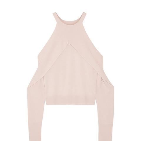 Cutout Merino Wool Sweater