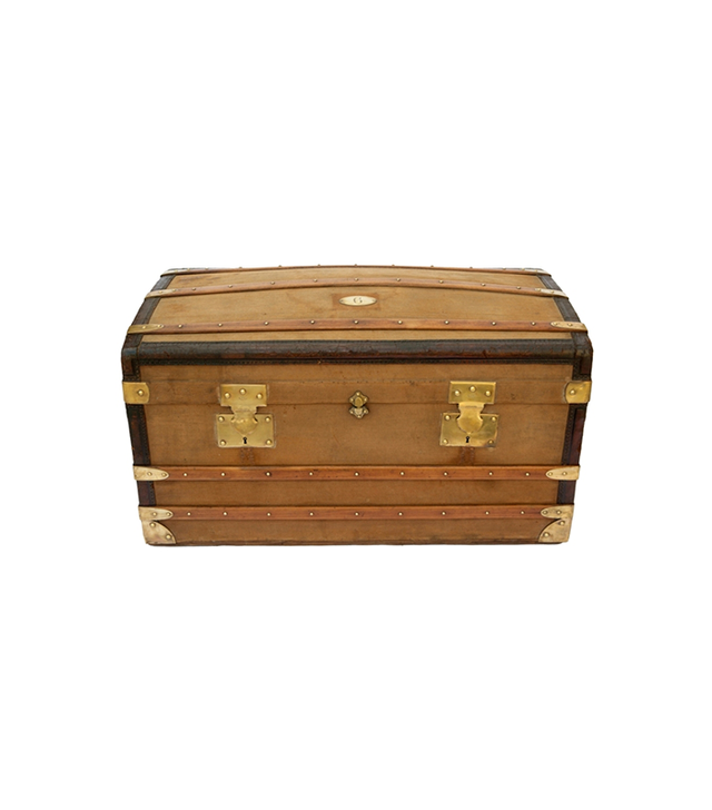 Chairish Antique French Trunk
