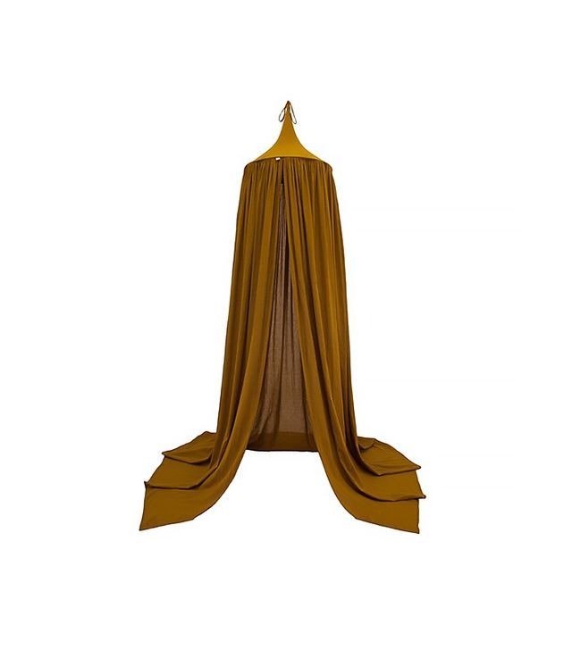 Talo Interiors Gold Cotton Canopy