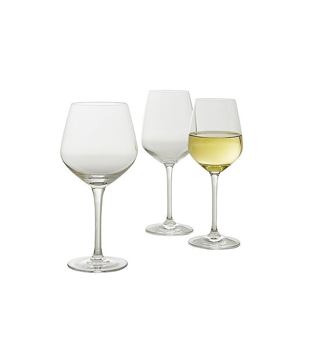 Crate and Barrel Nattie Wine Glasses