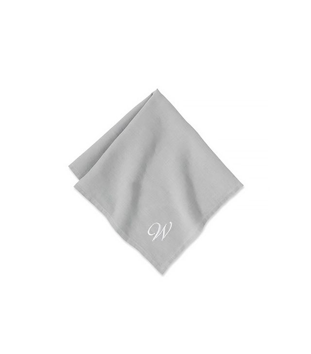 Williams-Sonoma Set of 4 Washed-Linen Napkins