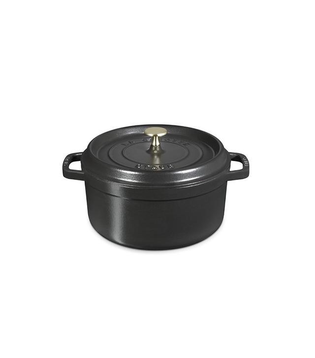 Staub Cast-Iron Round Cocotte, 4-Qt.