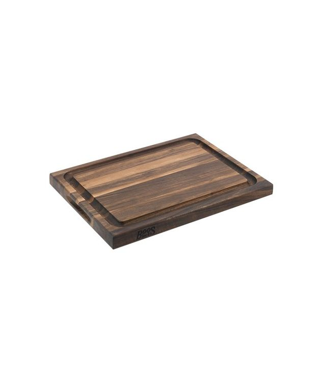 Boos Edge-Grain Carving Board, Walnut