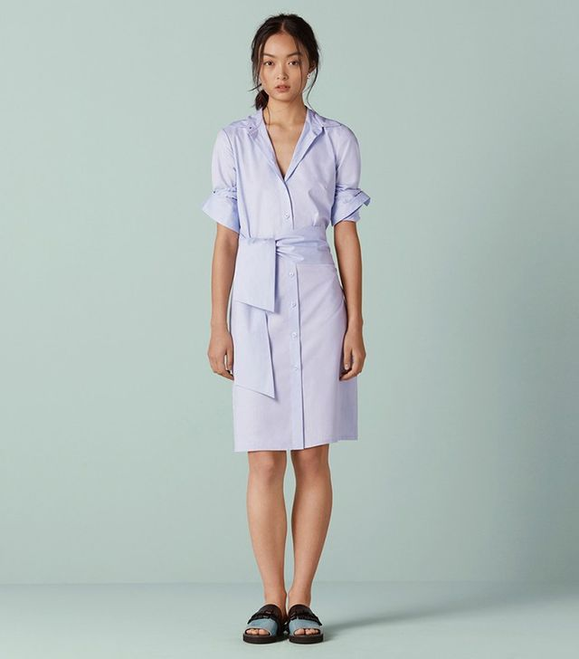 Finery Brunswick Integrated Wrap Shirt Dress