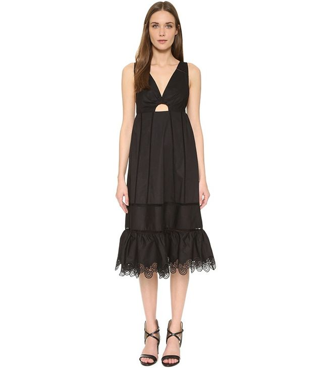 Thakoon Crochet Insert Dress