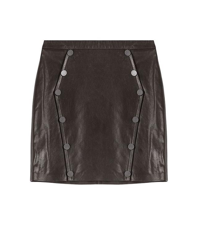 The Kooples Leather Skirt
