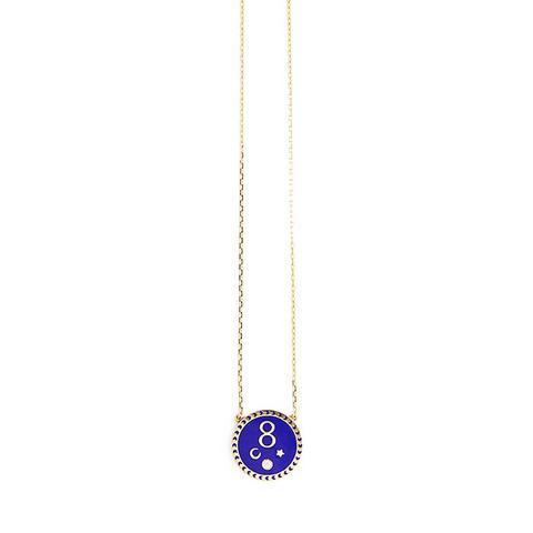 Petite Karma Medallion Pendant