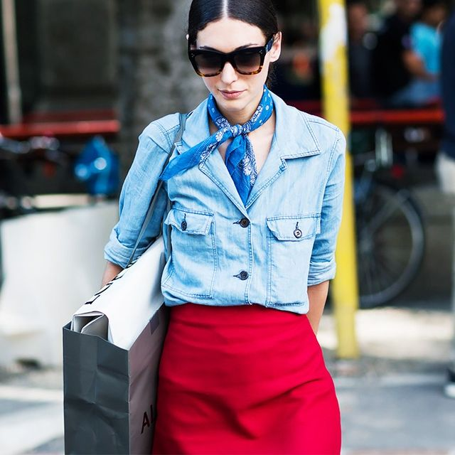 How to Layer Your Chambray Shirt Like a Pro