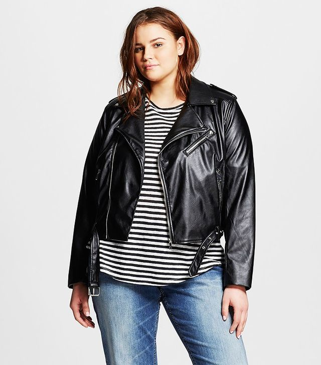 Who What Wear x Target Minimal Moto Jacket