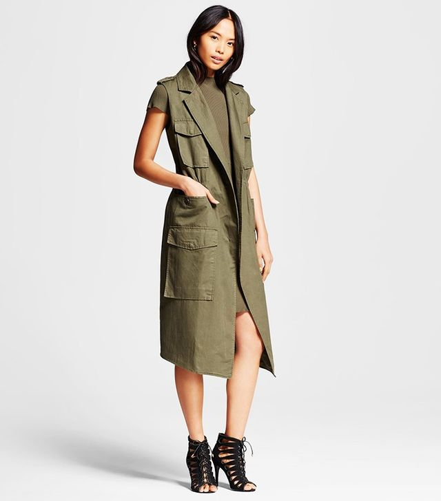 Who What Wear x Target Trench Vest