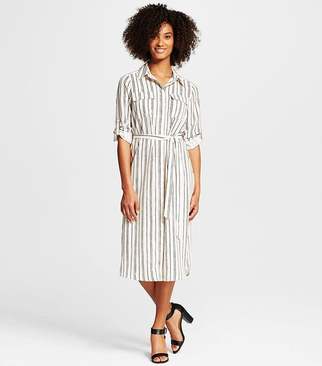 Who What Wear x Target Midi Shirt Dress