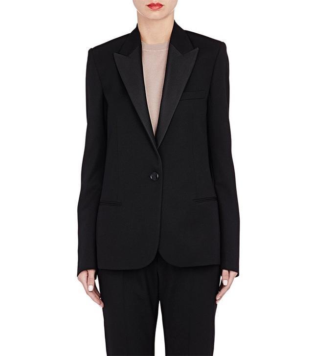 Lanvin Gabardine Tuxedo Jacket