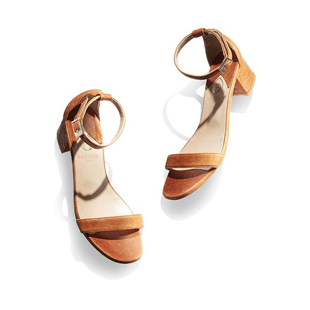 Brother Vellies Dahar Ankle-Strap Dress Sandal