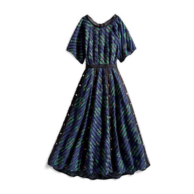 CG Open Back Evening Dress