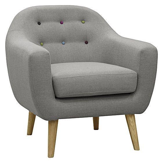 Zanui Maja Grey Armchair