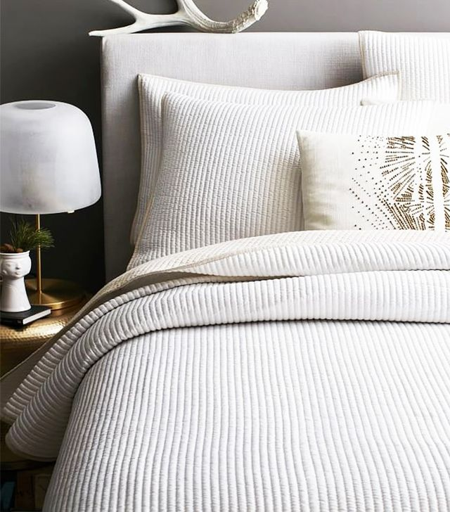 West Elm Channel Stitch Coverlet