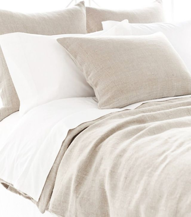 Pine Cone Hill Stone Washed Linen Natural Bedding