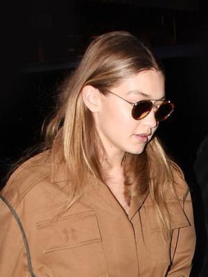 Gigi Hadid Borrowed a French Vogue Editor's Signature Look