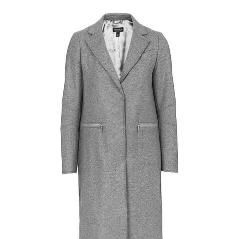Raw Edge Coat