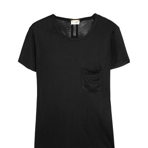 Silk-Jersey T-Shirt