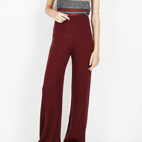 Ribbed Long Pant