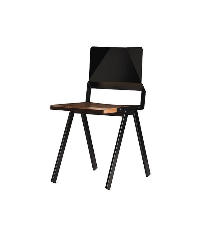 Misewell Lockwood Steel & Wood Chair