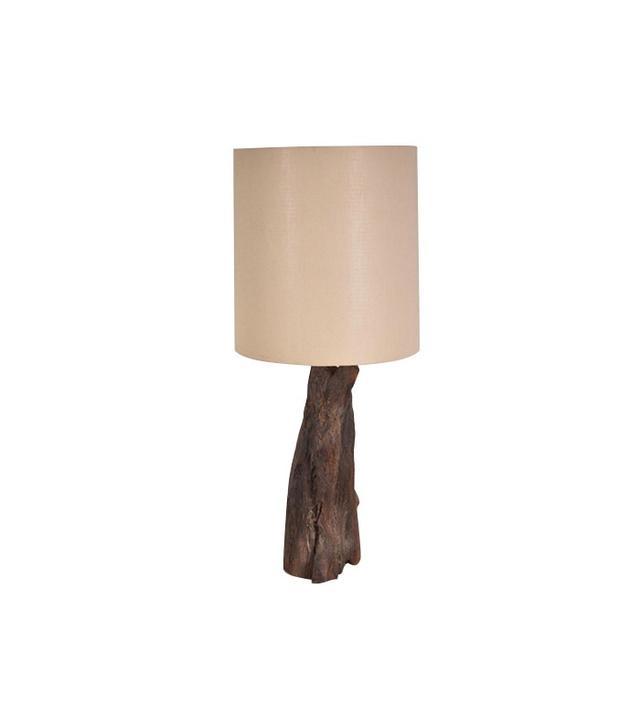 Pamono Vintage Tree Trunk Table Lamp
