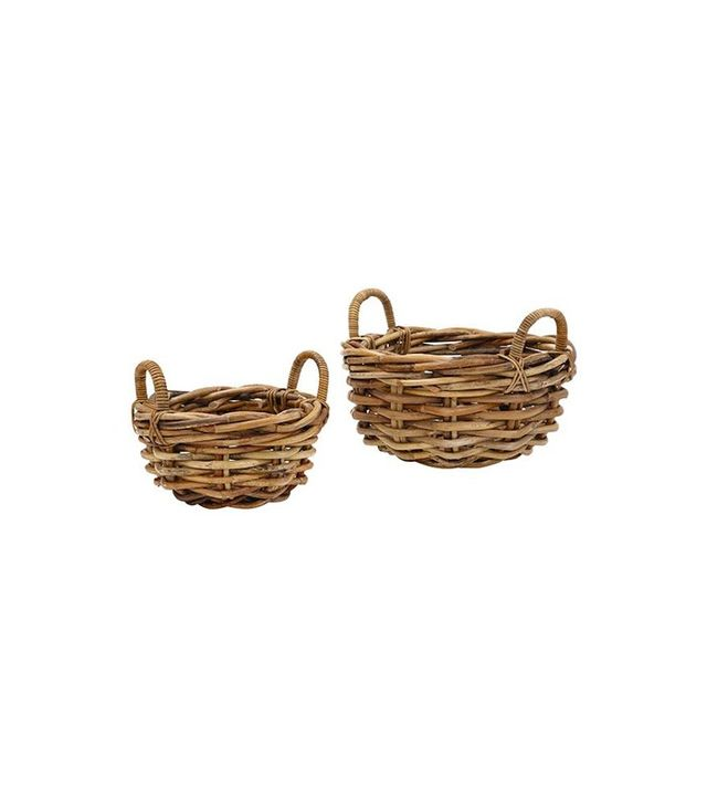 Home Decorators Collection Flynn Round Baskets, Set of 2