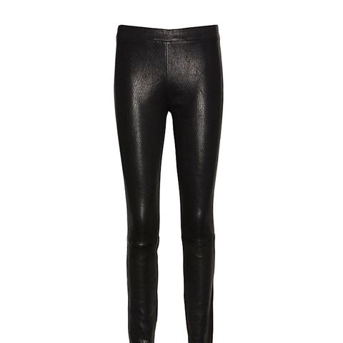 Clean Pull On Leather Legging