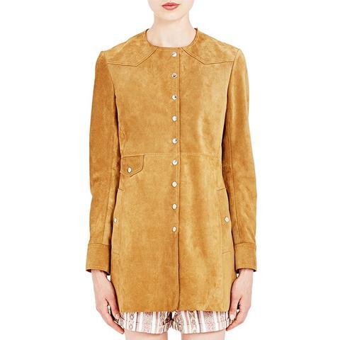 Suede Adler Coat