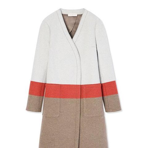Stripe Blanket Coat
