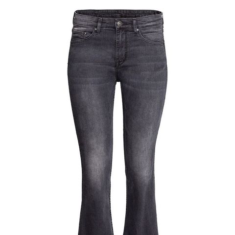 Kick Flare Ankle Jeans