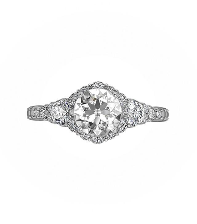 Forevermark Integre Cascasde Engagement Ring