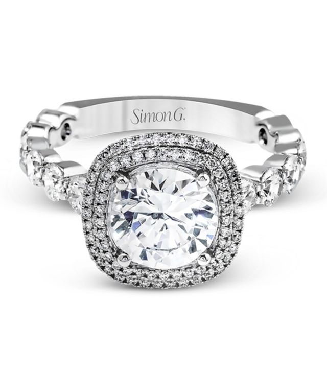 Simon G. MR2477 Passion Collection Engagement Ring
