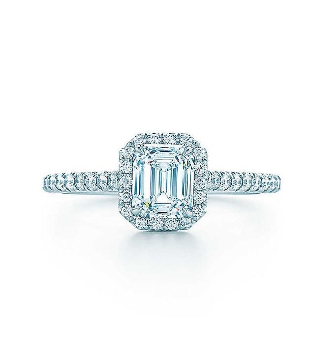 Tiffany Soleste Emerald Cut  Ring