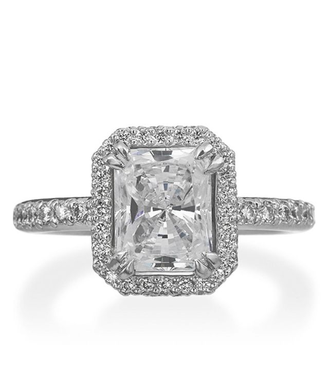 Michael B. Trois Collection Emerald Cut Ring(price upon request)