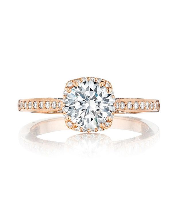 Tacori Pretty in Pink Engagement Ring (price upon request)