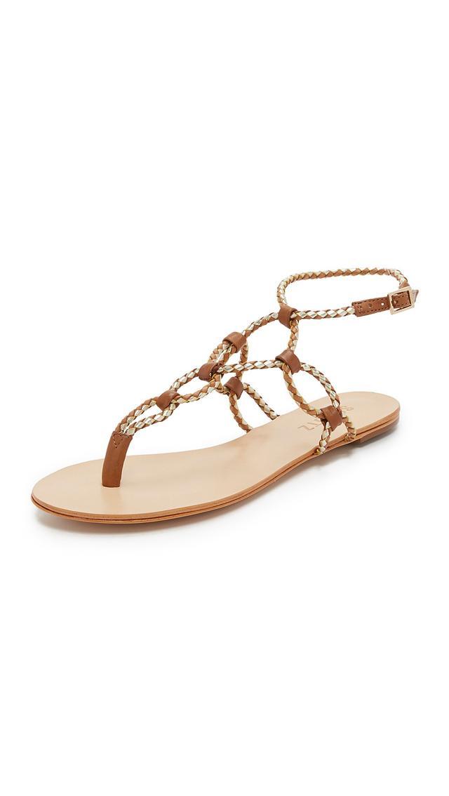 Schutz Veda Flat Sandals