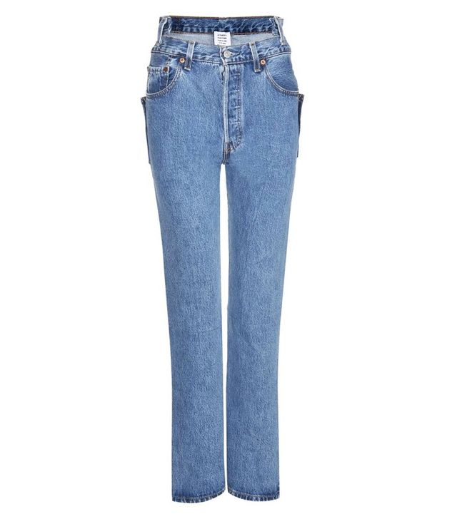 Vetements Distressed Slim Jeans