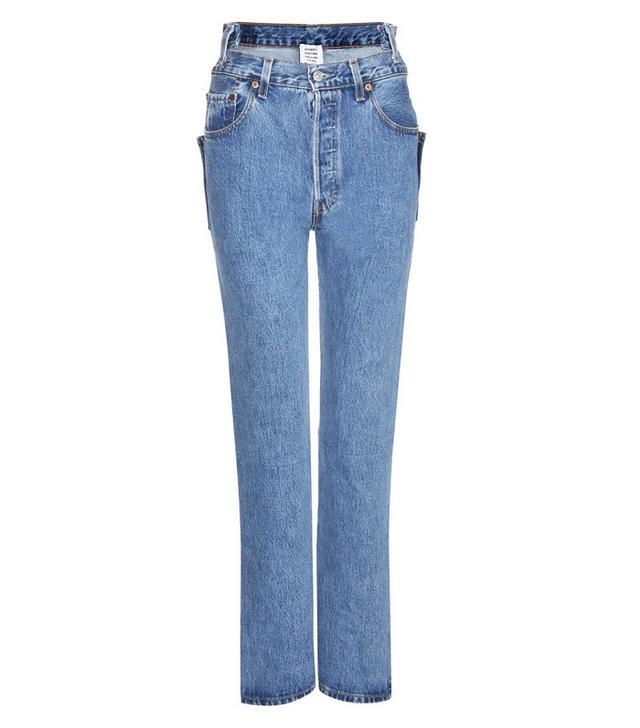 Vetements Distressed Slim Jeans