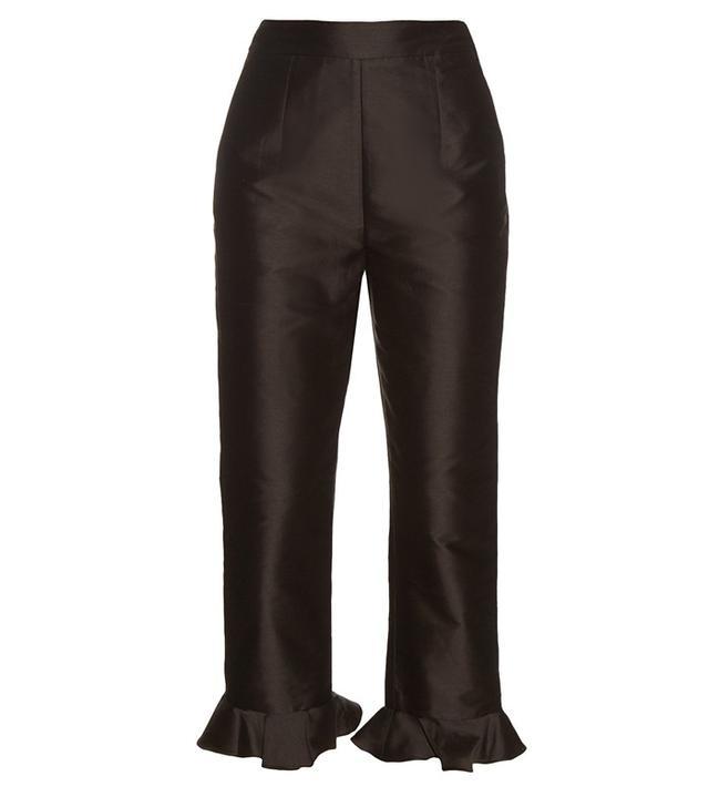 Isa Arfen Frill Hem Trousers