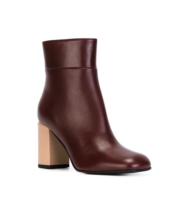 Marni Contrasted Heel Boots